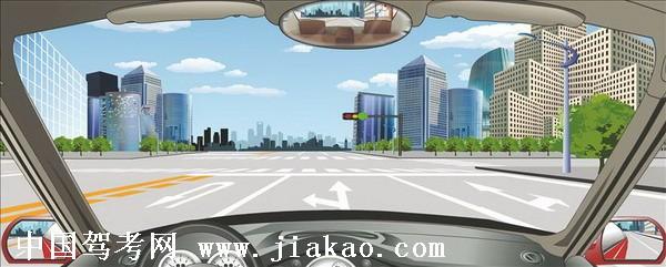 汽车理论复习题_驾驶机动车在前方路口掉头前先进入左转直行车道。驾驶员理论 ...