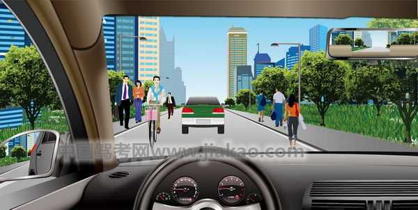 汽车理论复习题_如图所示,机动车在这样的城市道路上行驶,最高的行驶速度不 ...