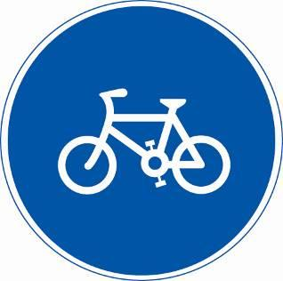 b,电动自行车行驶 c,非机动车停放区 d,非机动车行驶 20,  这个标志